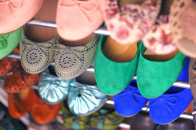 Baleriny to buty modne i wygodne